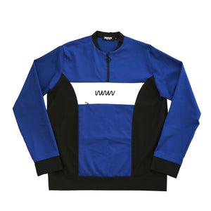 Logo Blue and Black Tracksuit