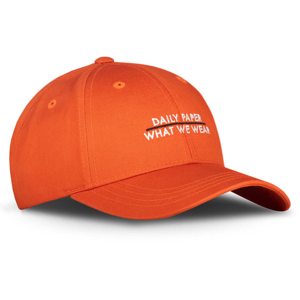 What We Wear x Daily Paper Orange Baseball Cap