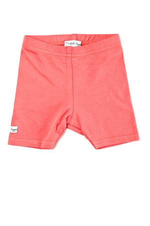 Lil Legs Coral Shorts