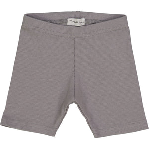 Lil Legs Dark Grey Ribbed Shorts