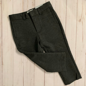 Mocha Noir Stretch Boys Pant Charcoal Mix