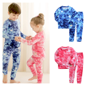 Vaenait 100% Cotton Splatter Tie Dye Pajamas