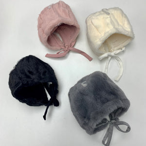 Bebe Beaute Furry Baby Bonnet