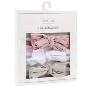 Ely's & Co 3 Pack Headband Set