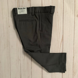 Mocha Noir Slim For Stretch Boys Pant Slate