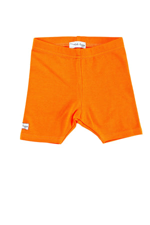 Lil Legs Orange Shorts
