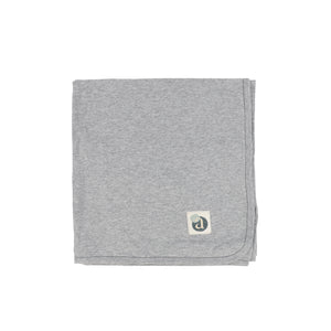 Lil Legs Grey Scribble Blanket