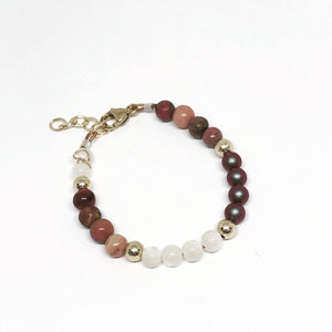 Tri Color Beaded Bracelet