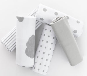 Ely's & Co Waterproof Reversible Burp Cloths
