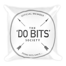 The Official 'Do Bits Society Throw Pillow