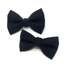 Load image into Gallery viewer, Black Dog Bow Tie