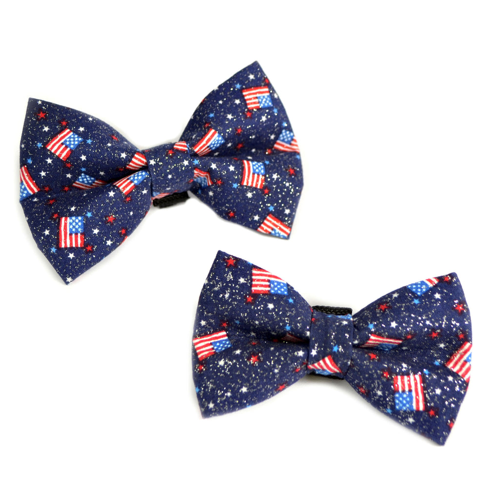 Fourth of July Dog Bow Tie
