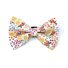 Load image into Gallery viewer, Spring Floral Dog Bow Tie