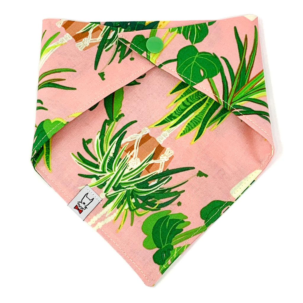 Plant Lover Dog Bandana