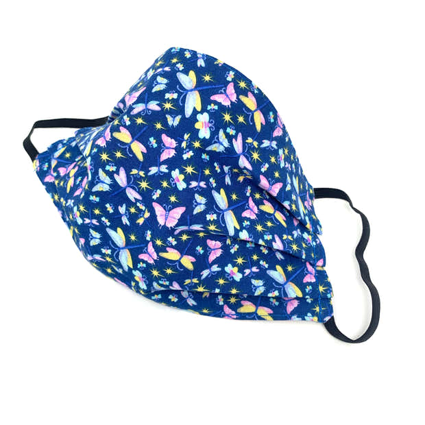Butterfly Print Face Mask 1