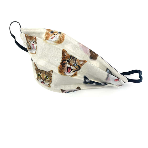 Cat Lover Face Mask - Small 1