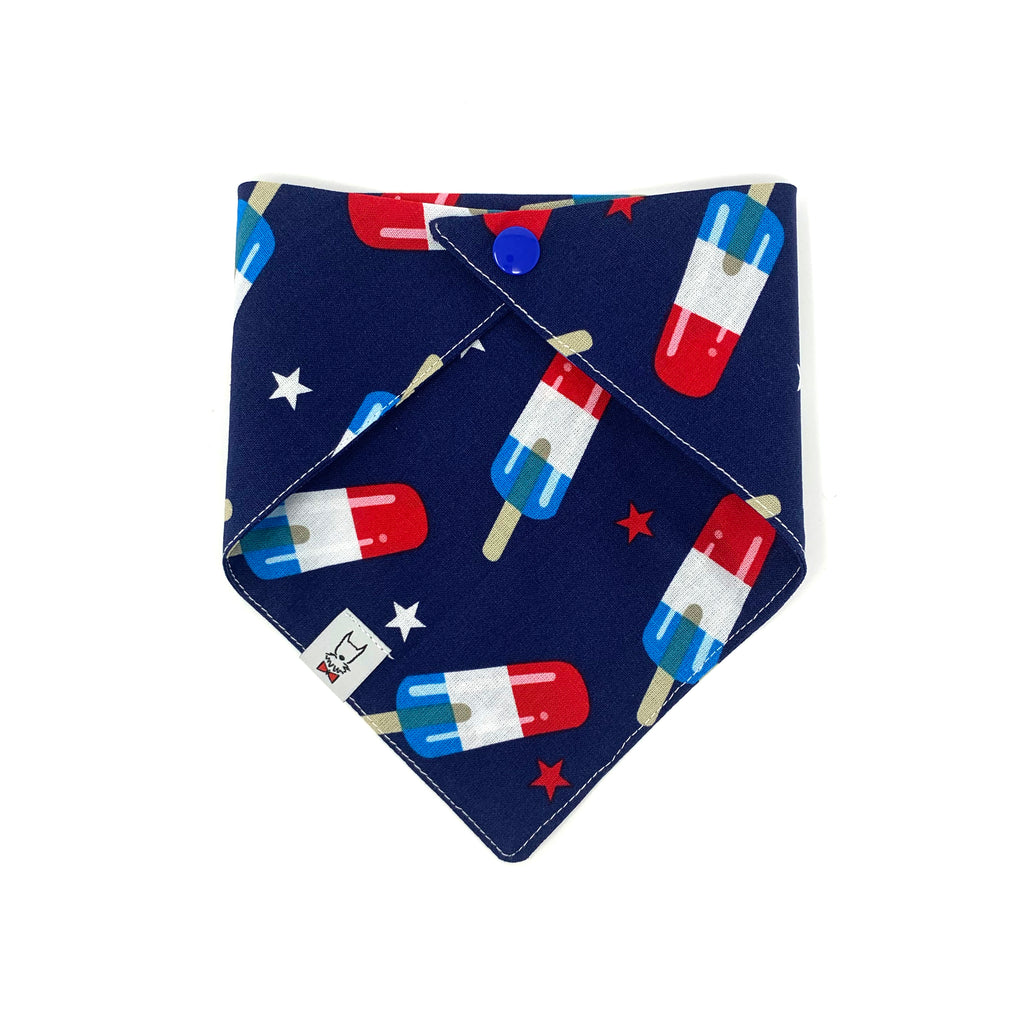 Firecracker Popsicle Dog Bandana