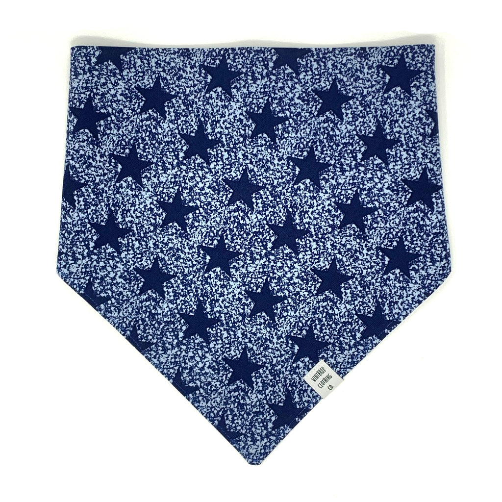 Navy Star Dog Bandana