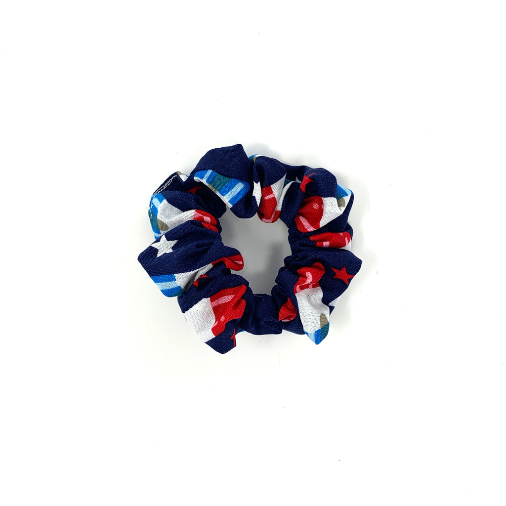 Firecracker Popsicle Hair Scrunchie
