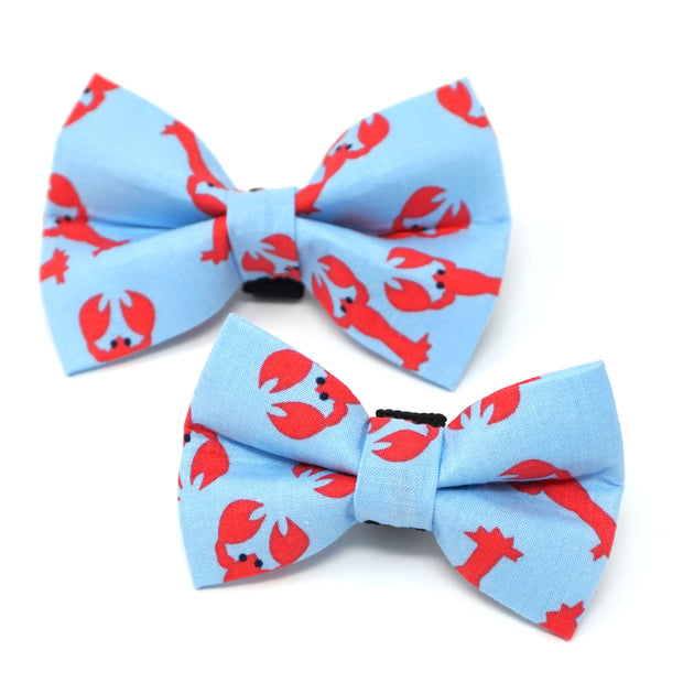 Lobster Dog Bow Tie 1