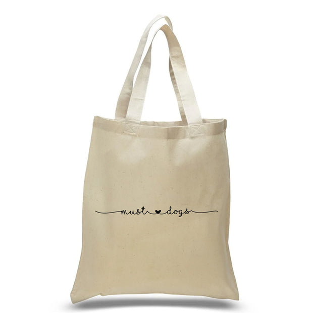Must Love Dogs Tote Bag 1