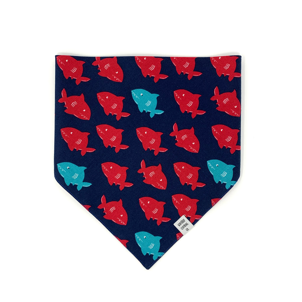 Shark Dog Bandana