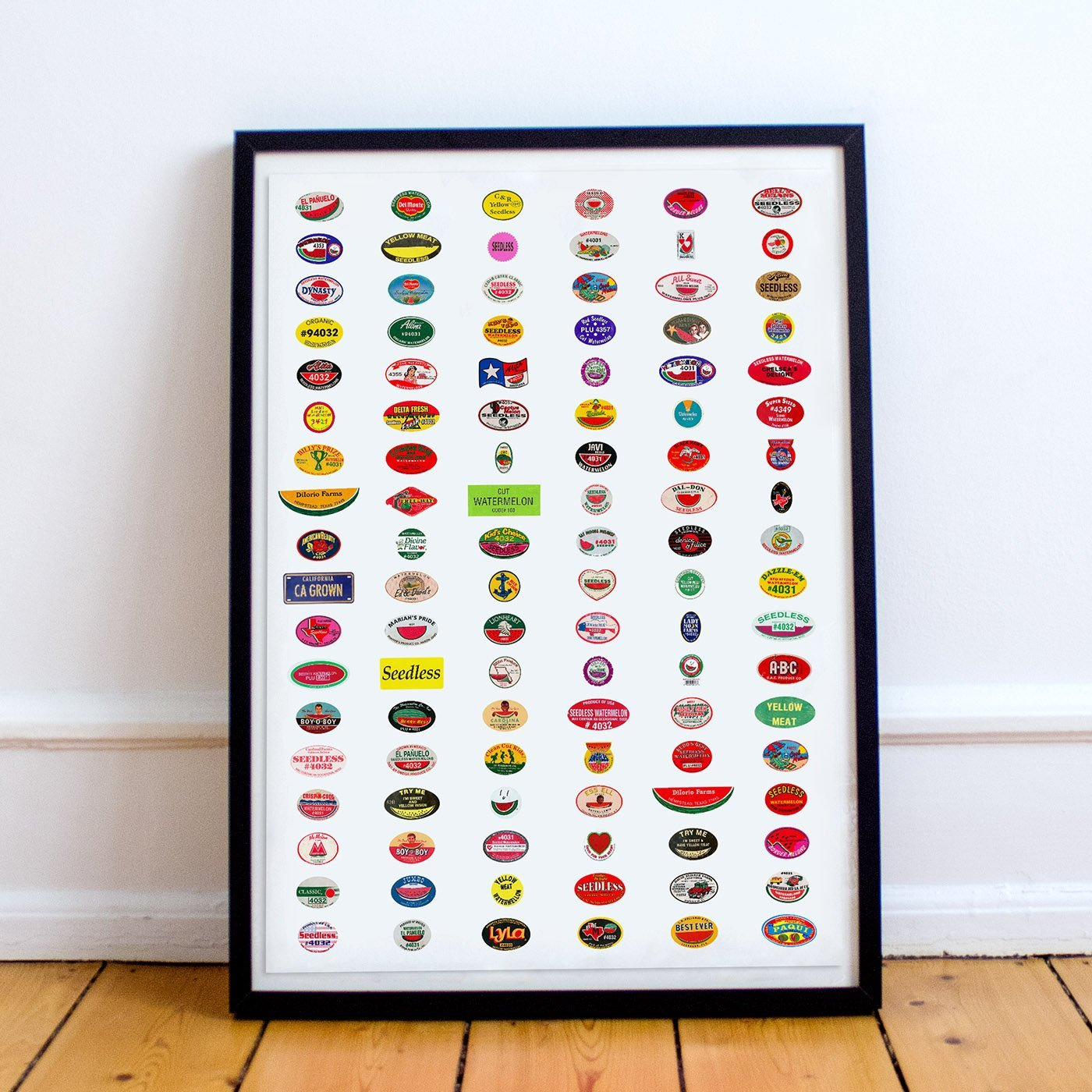 All Melons, Baby! - Fruit Stickers