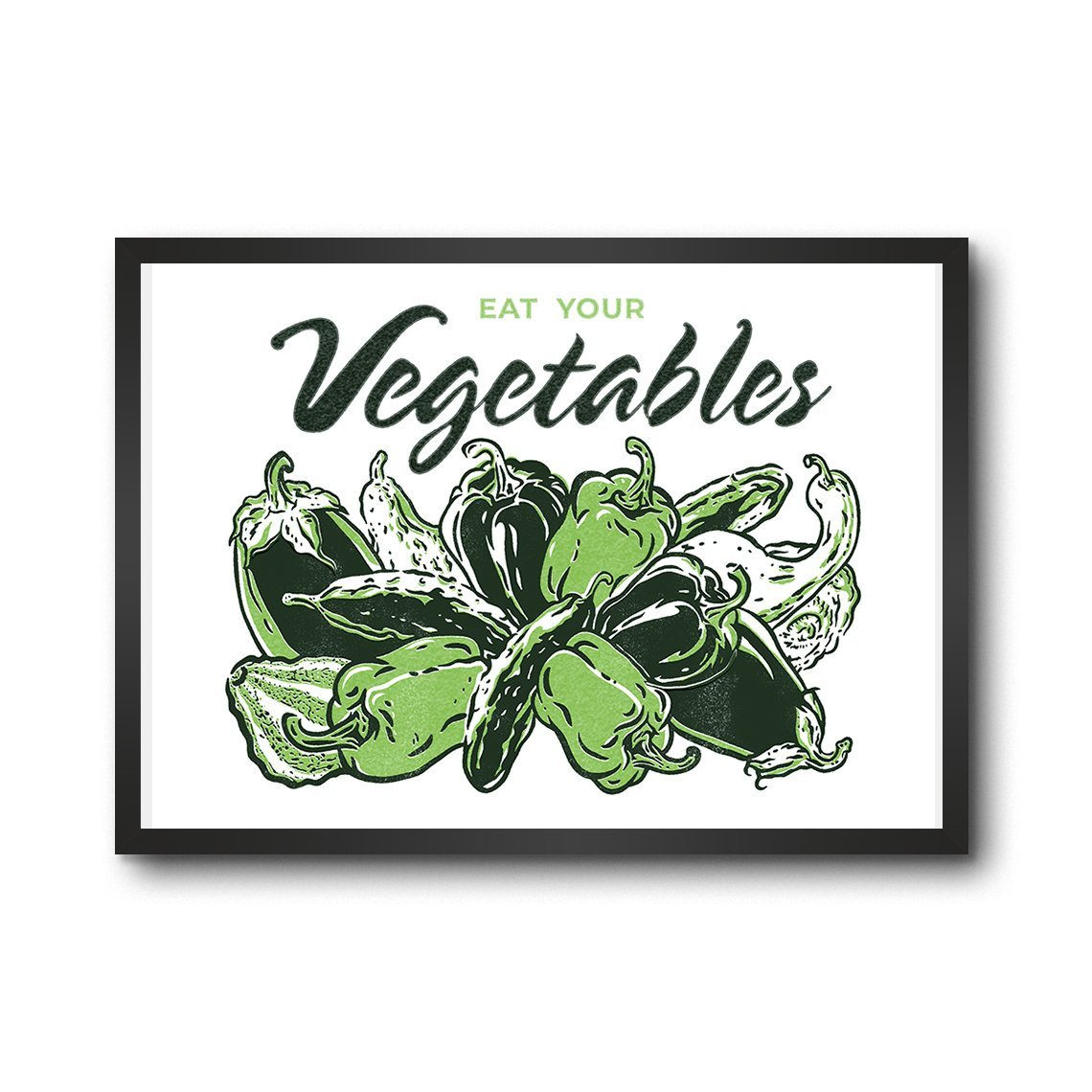 Eat Your Vegetables - Fruit Stickers