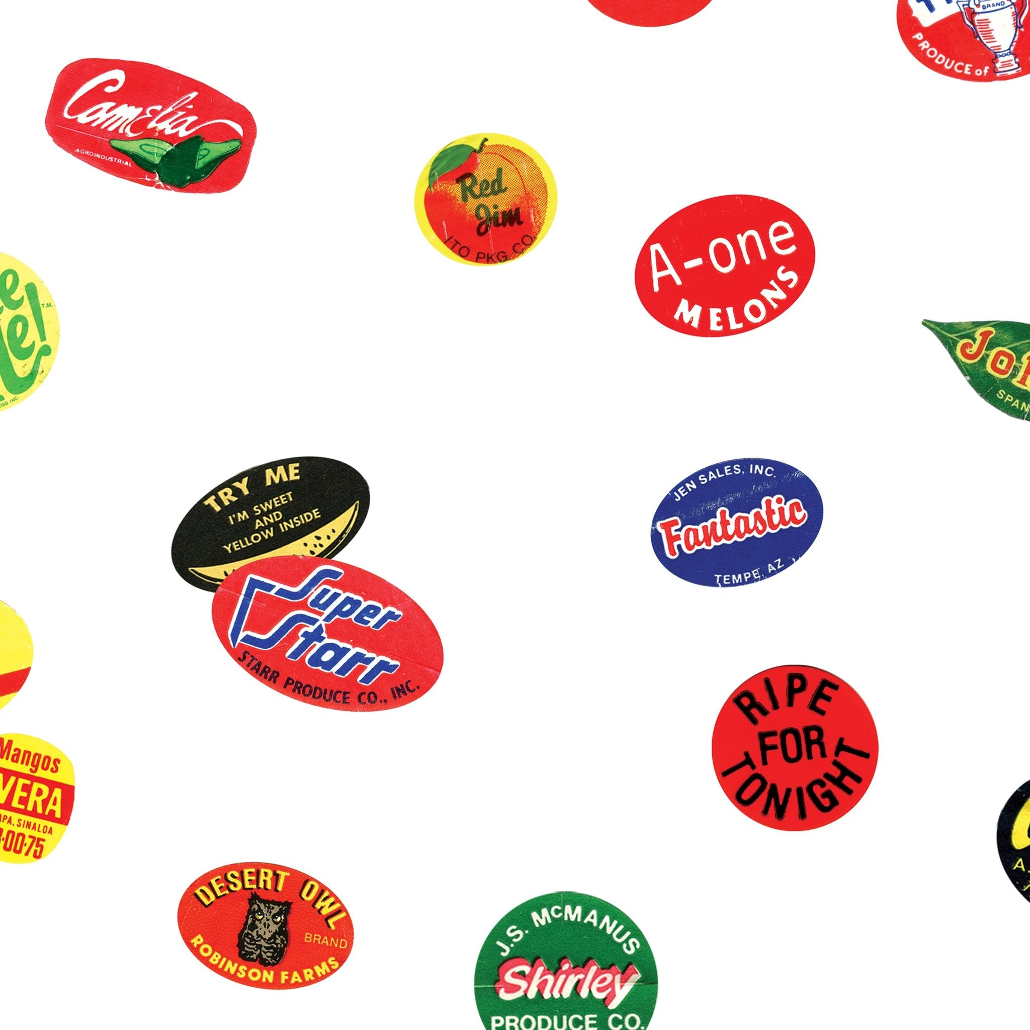 Original Scatter - Fruit Stickers