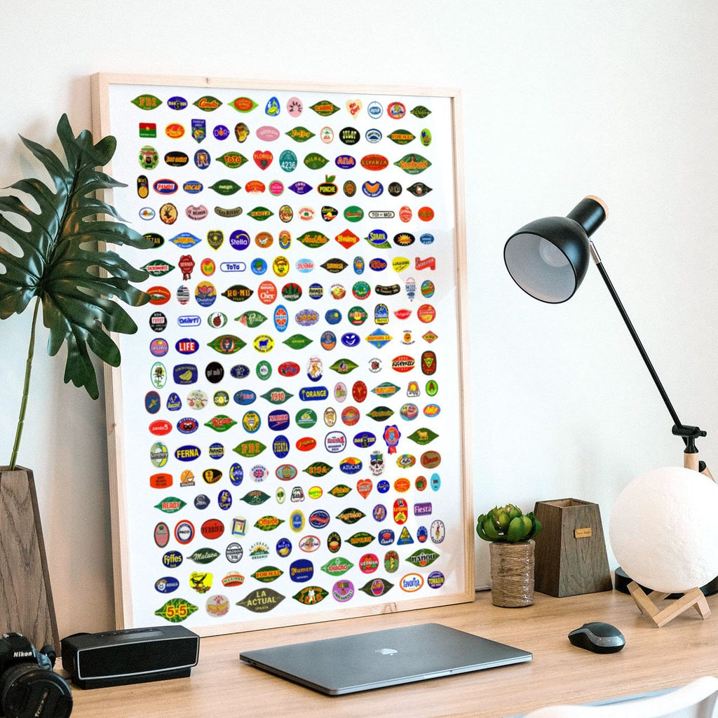 The Big One - Fruit Stickers