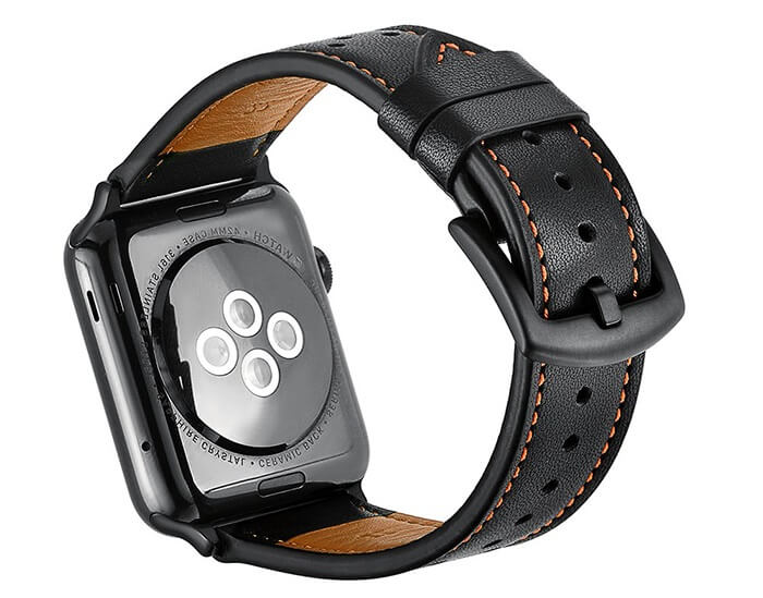Leather Strap Compatible with Apple Watch