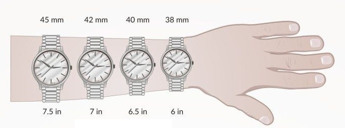 The Right Watch Case Sizes for Your Wrist