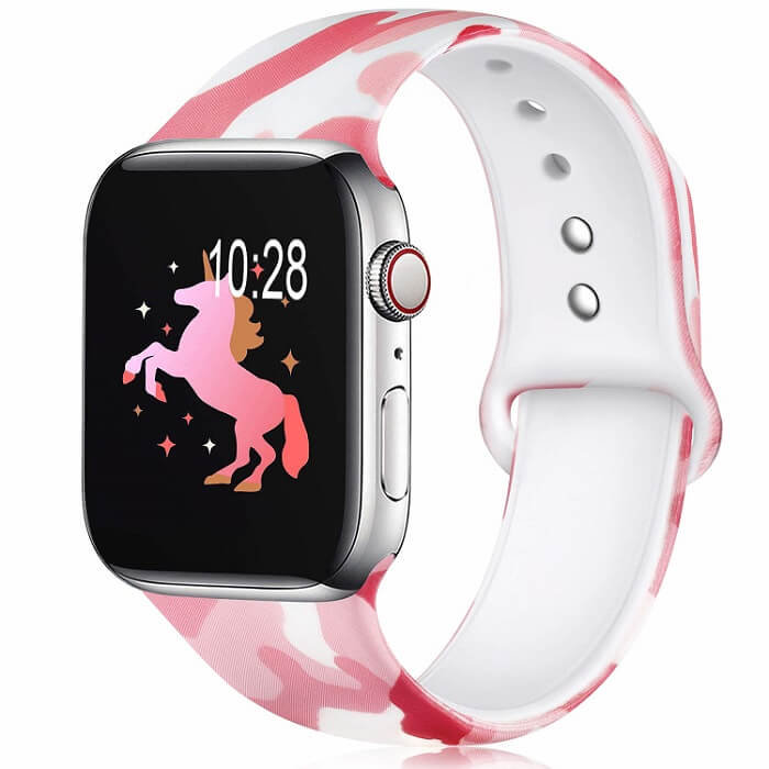 Pink Camouflage Camo Band for Apple Watch