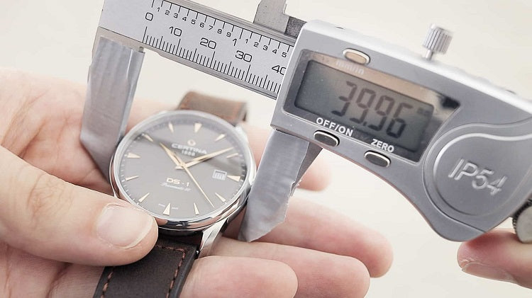 How to Measure Watch Case Size