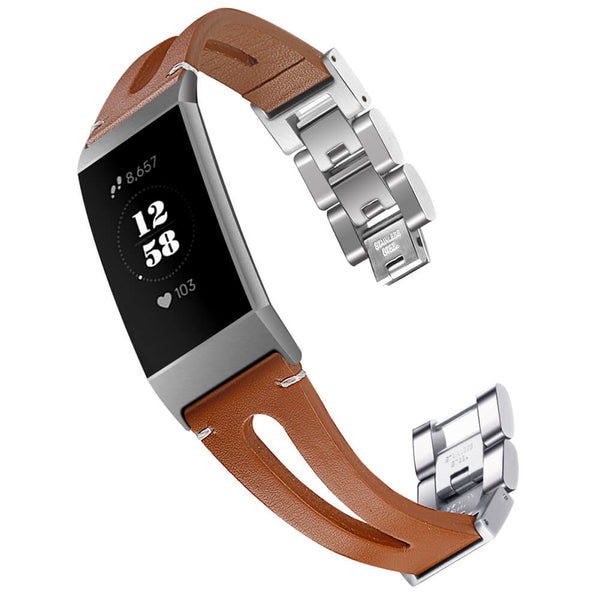 Genuine Leather Bands for Charge 3 & 3 SE - BandGet