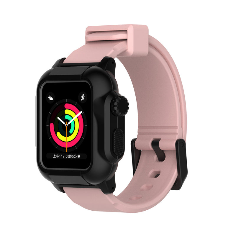 IP68 Waterproof Case Band for Apple Watch Series 3/2 42mm - BandGet