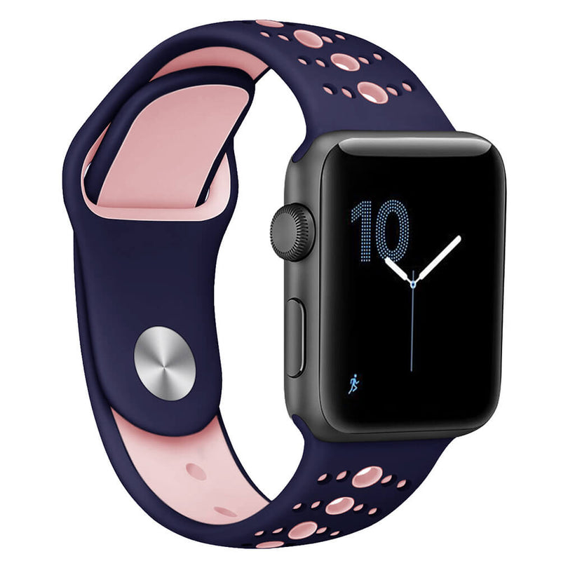 Silicone Wristbands for Apple Watch 5 4 3 2 1 - BandGet