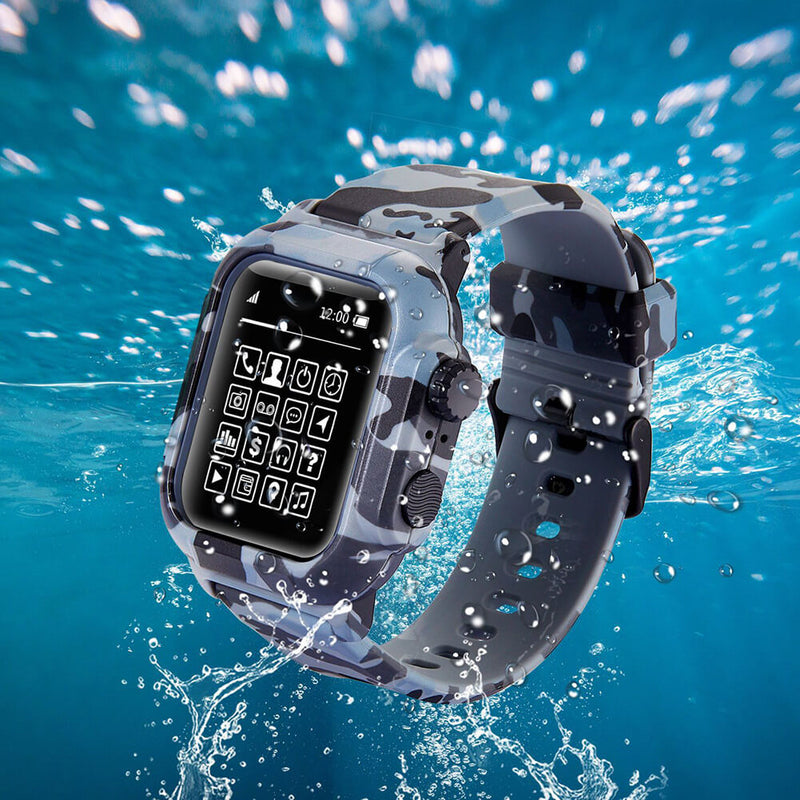 IP68 Waterproof Case Watch Band for Apple Watch 5 4 3 2 - BandGet