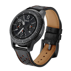Silicone Stick Leather Hole Bands for Samsung Gear S3 - BandGet