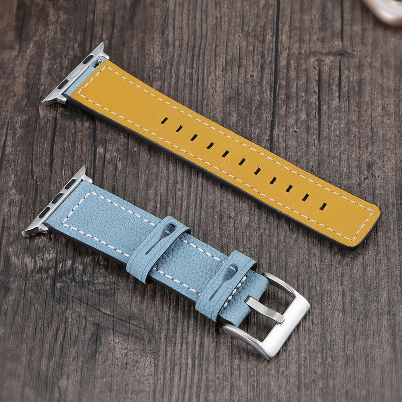 Genuine Leather Bands Replacement for Apple Watch 5 4 3 2 1 - BandGet
