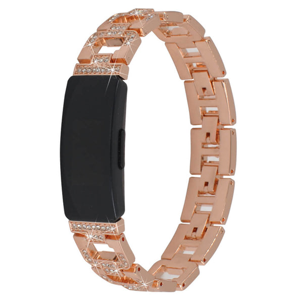 Metal Rhinestone Wristbands for Fitbit Inspire & Inspire HR - BandGet