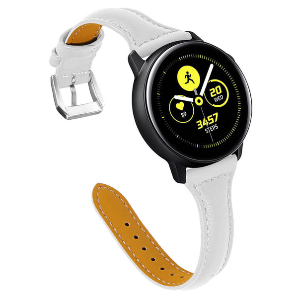 Leather T-shaped Straps for Samsung Galaxy watch Active - BandGet