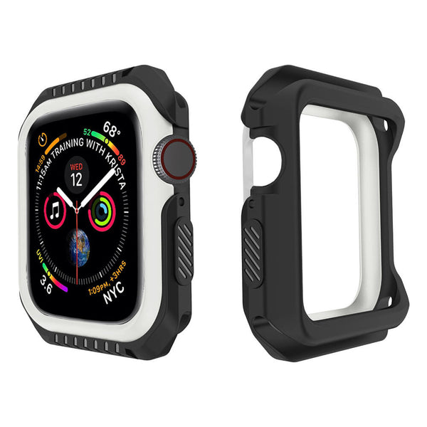 Shatter-Resistant Bumper for Apple Watch Series 4 5 44mm 40mm - BandGet