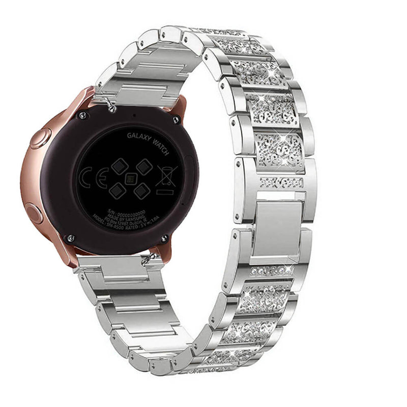 Stainless Steel Solid Wrist Bands for Samsung Galaxy Watch Active - BandGet