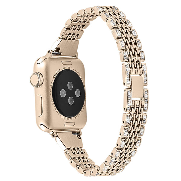 Bling Rhinestone Metal Bands for Apple Watch 5 4 3 2 1 - BandGet