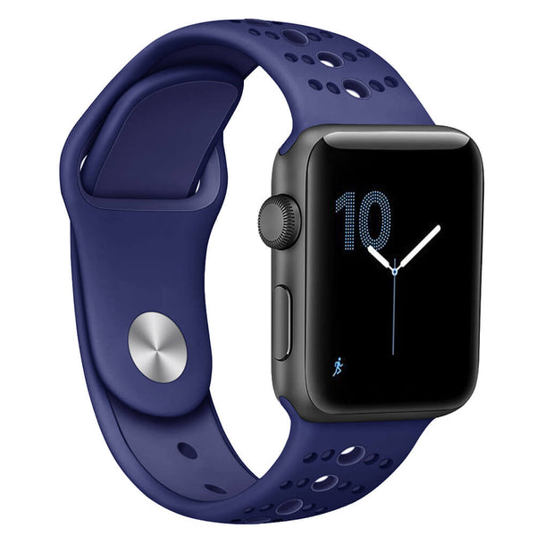 Breathable Soft Silicone Bands for Apple Watch 4 3 2 1 - BandGet