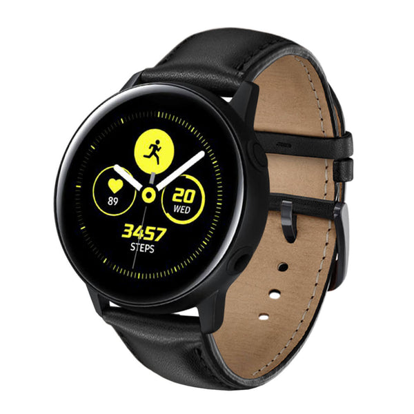 Vintage leather Bands for Samsung Galaxy Watch Active - BandGet