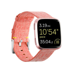 Woven Fabric Bands Replacements for Fitbit Versa 2 / Versa / Versa Lite - BandGet