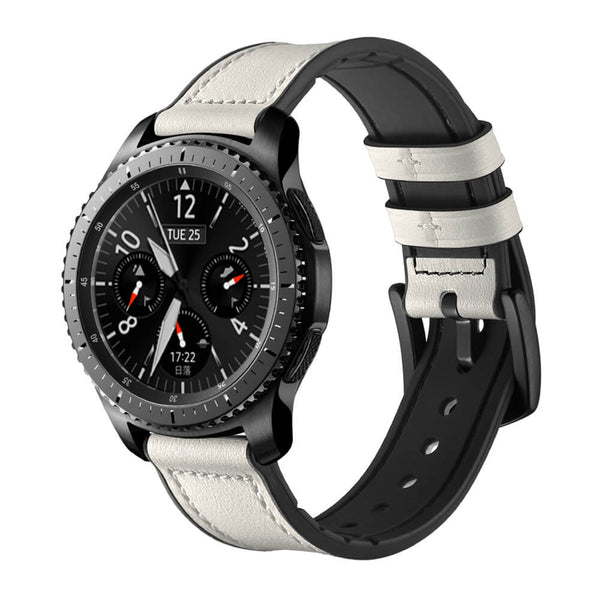 Silicone Leather Straps for Samsung Gear S3 Smartwatch - BandGet