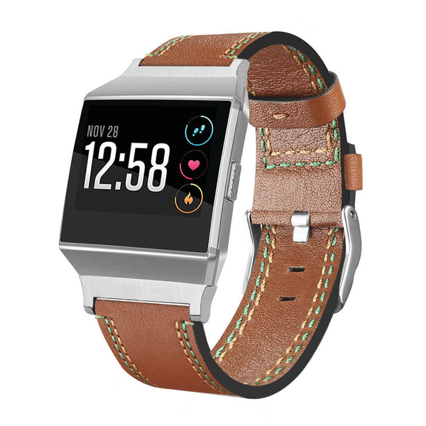 Classic Genuine Leather Replacement Straps for Fitbit Ionic - BandGet